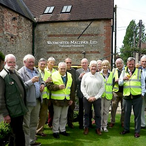 Visit to The Maltings in Warminster - May 2017