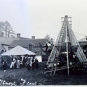 "East Knoyle ""Feast"" at The Green 1909"