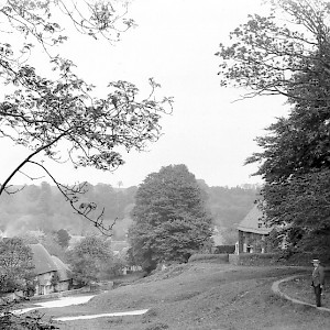 Milton towards Park Cottage formerly Bell Cottage
